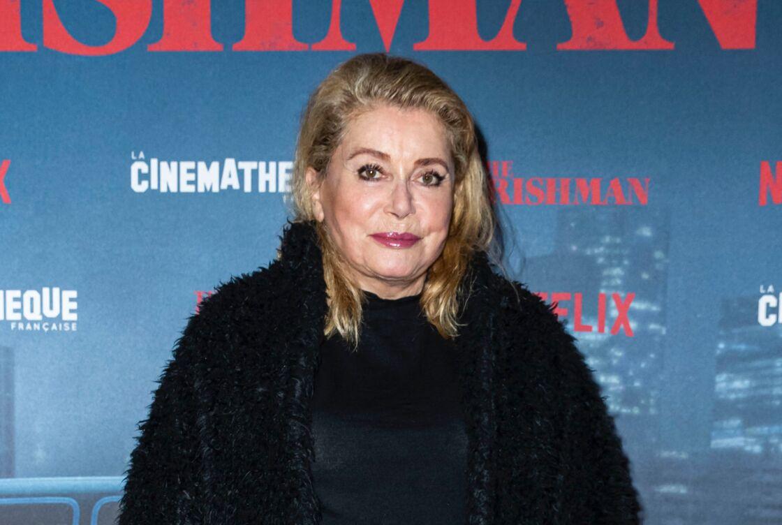 Catherine Deneuve lors d'une avant-première en 2019.