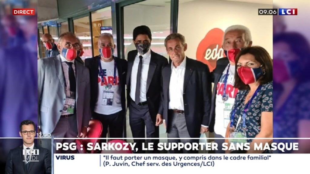 Nicolas Sarkozy était présent avec Anne Hidalgo, notamment, pour la finale entre le PSG et le Bayern de Munich.