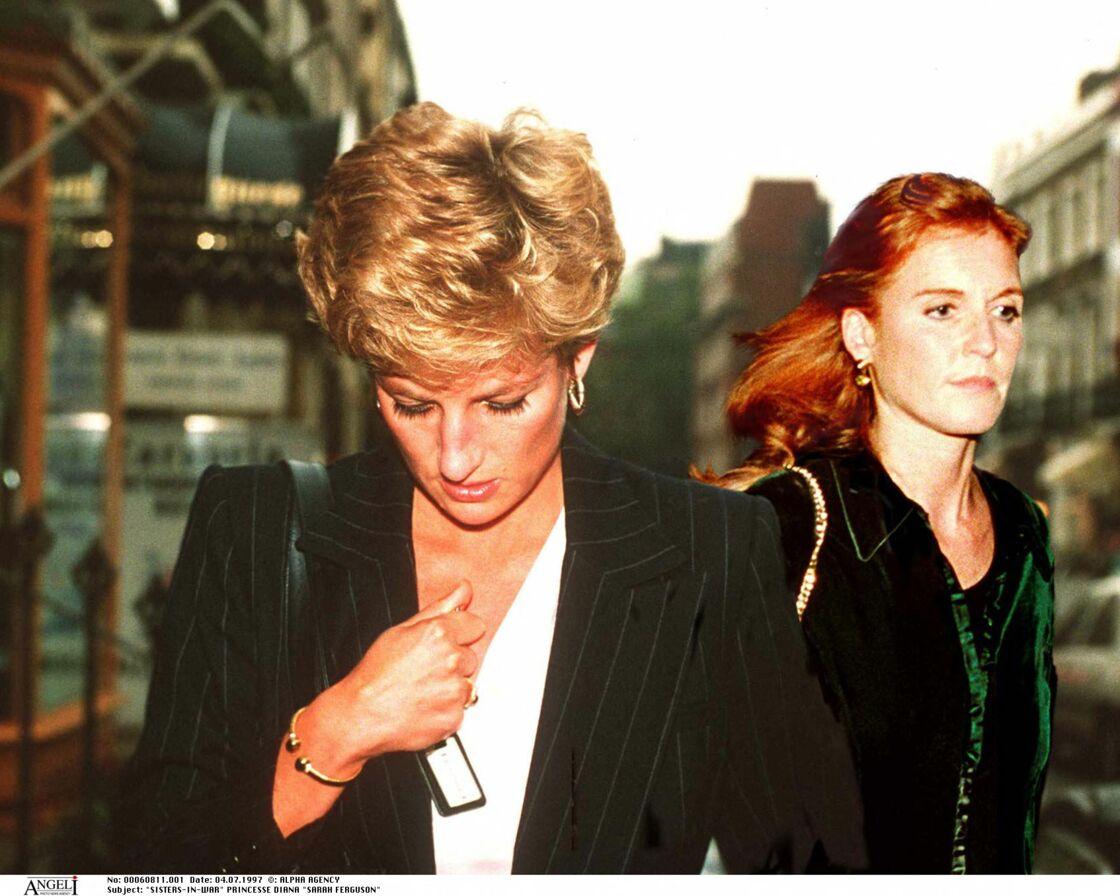 Diana et Fergie en 1997