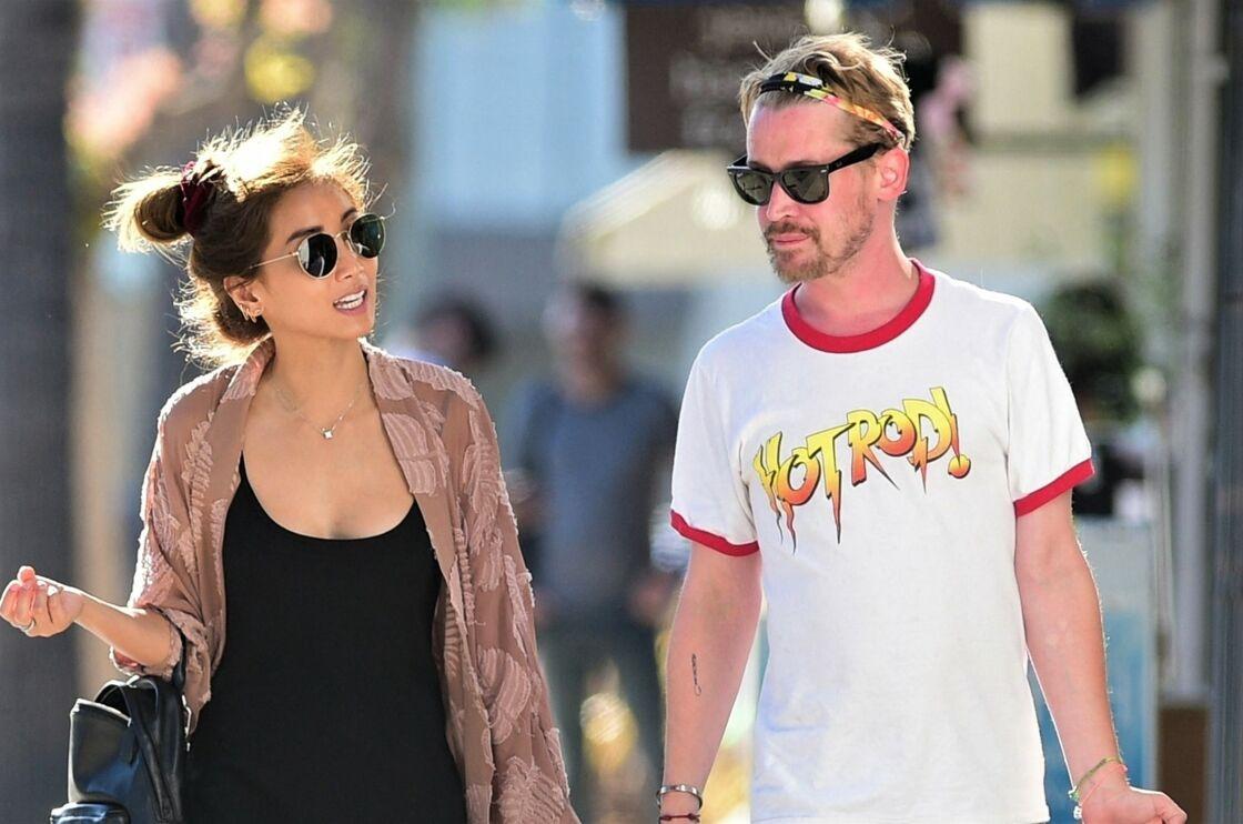 Brenda Song et Macaulay Culkin, à Los Angeles, le 11 juillet 2019.