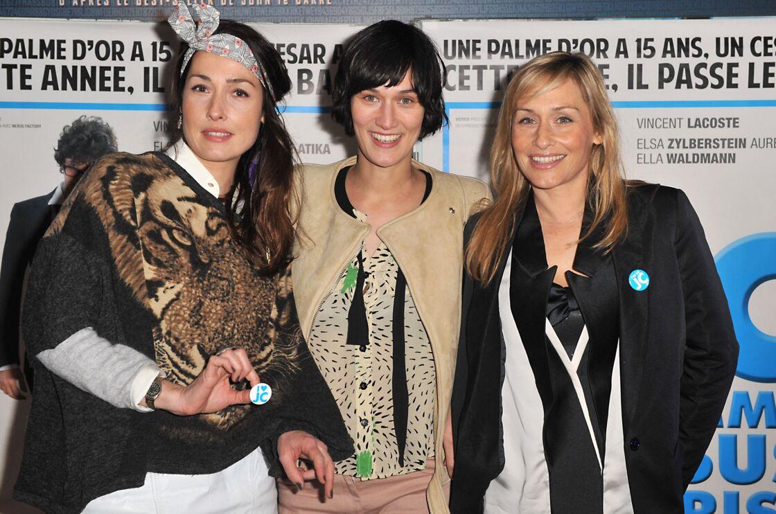 Annelise, Clotilde et Elodie Hesme à l'avant-première de