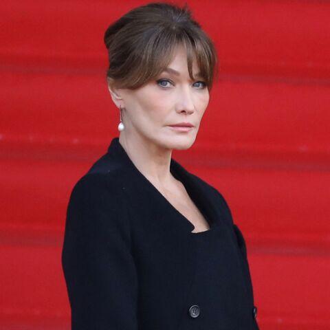 Carla Bruni «triste» et «mélancolique»: ses touchantes confidences