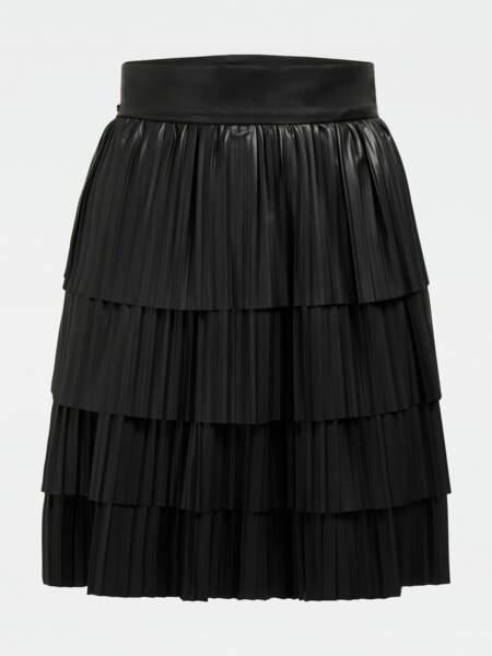 La jupe plissée 99,99€, Guess