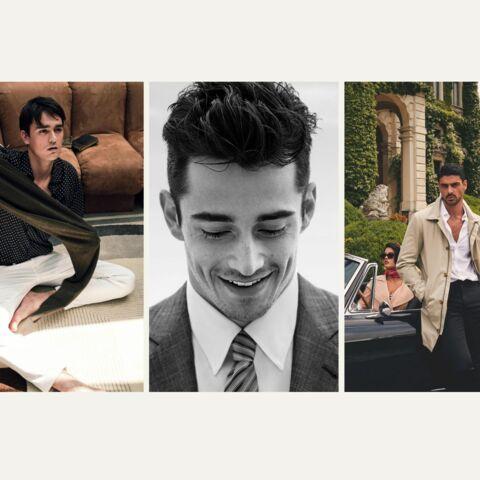 PHOTOS – Michael B Jordan, Michele Morrone, Charles Leclerc, Alain Fabien Delon: les nouvelles stars de la mode