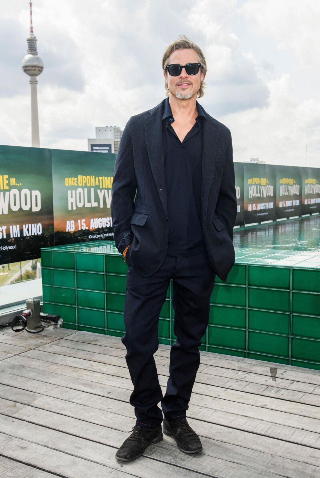 Brad Pitt au photocall de