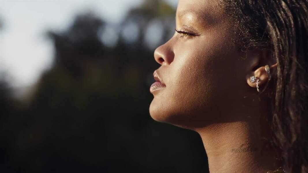 Rihanna, pour la gamme Fenty Skin Care, mettant en vedette ASAP Rocky et Lil Nas X.