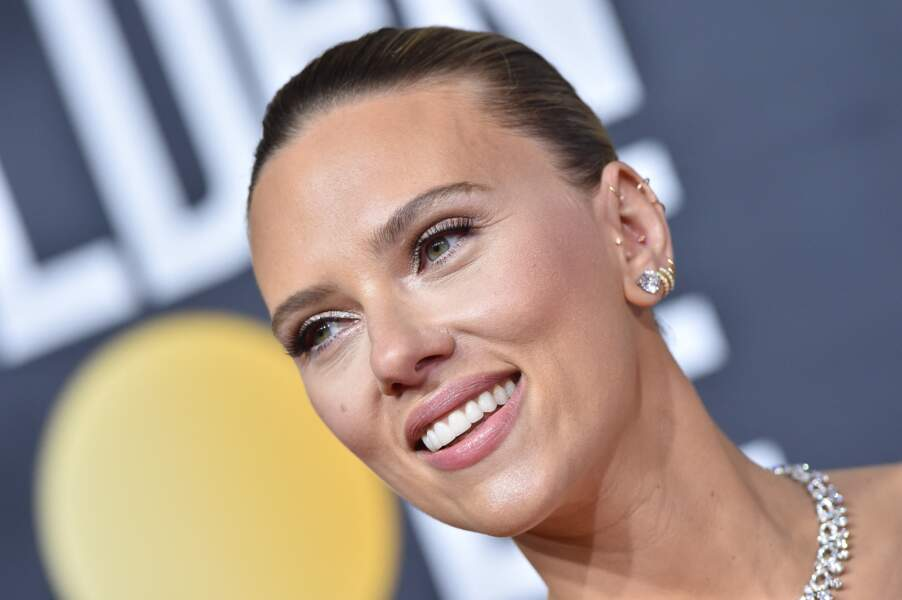 Scarlett Johansson à la 77ème cérémonie annuelle des Golden Globe Awards au Beverly Hilton Hotel à Los Angeles.