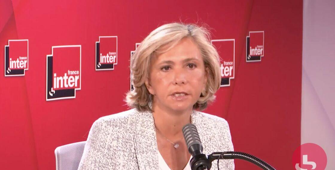 Valérie Pécresse, la présidente du conseil régional d'Île-de-France, au micro de France Inter, ce 31 août 2020.