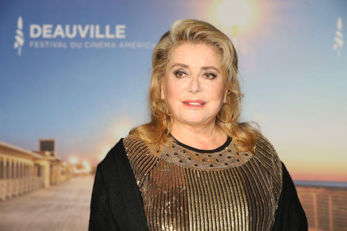 Catherine Deneuve - Press room lors de la soirée de clôture du 45ème Festival du Cinéma Américain de Deauville. Le 14 septembre 2019
