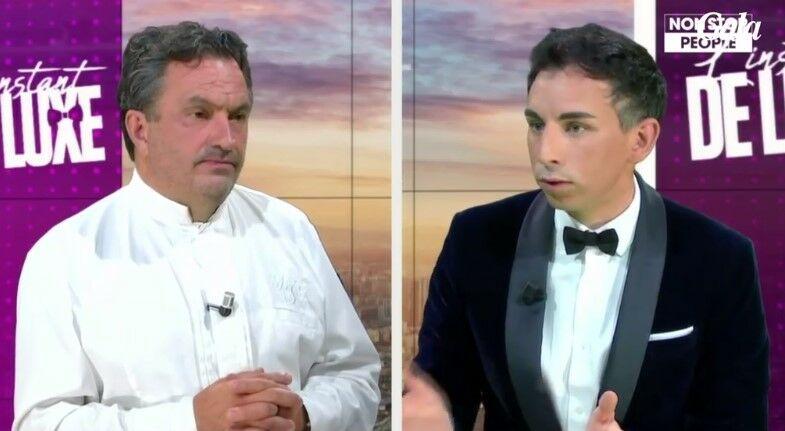 Yves Camdeborde et Jordan DeLuxe dans L'instant de Luxe