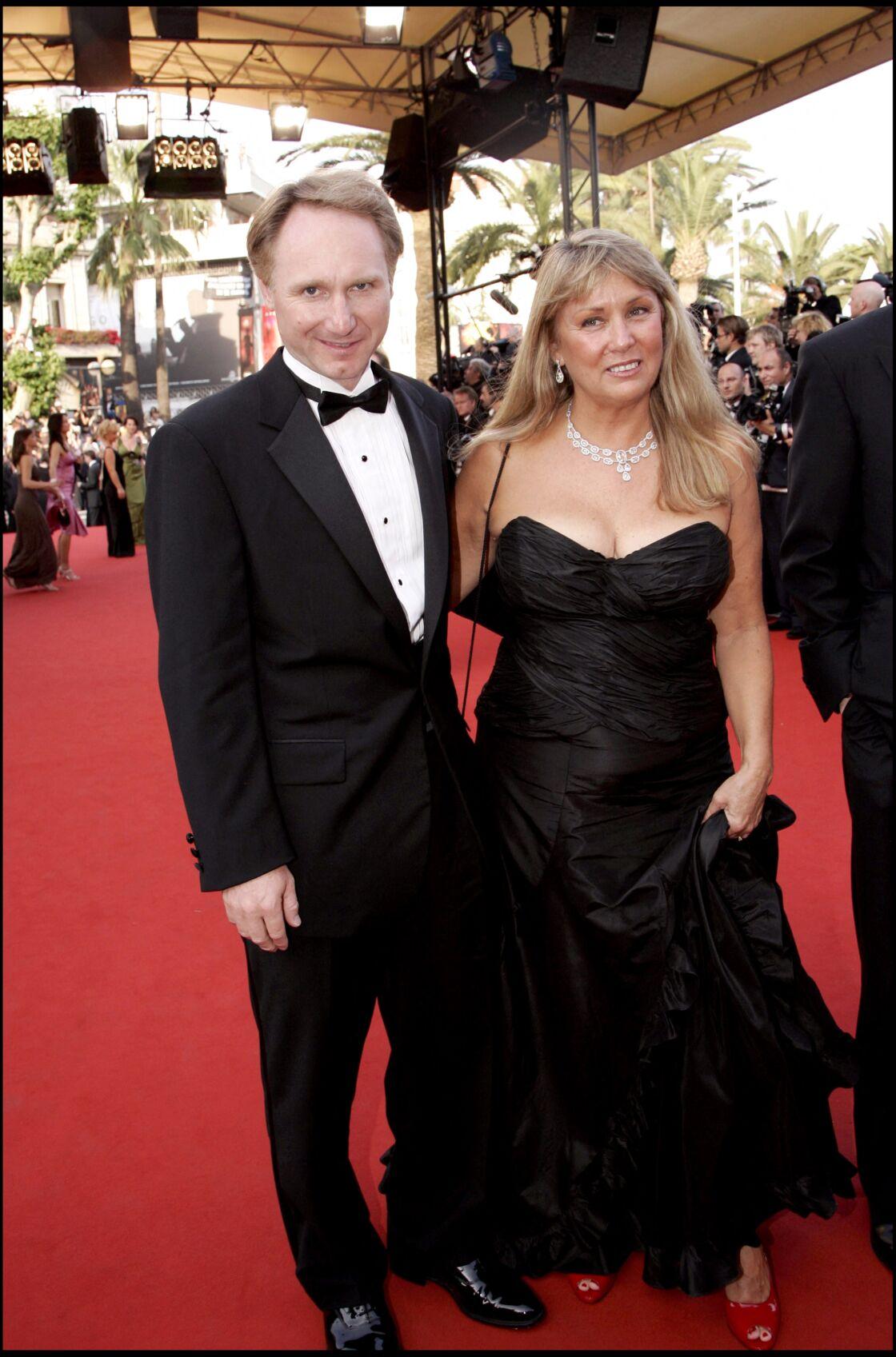 Dan Brown et sa femme en 2006. Le couple battait déjà de l'aile.