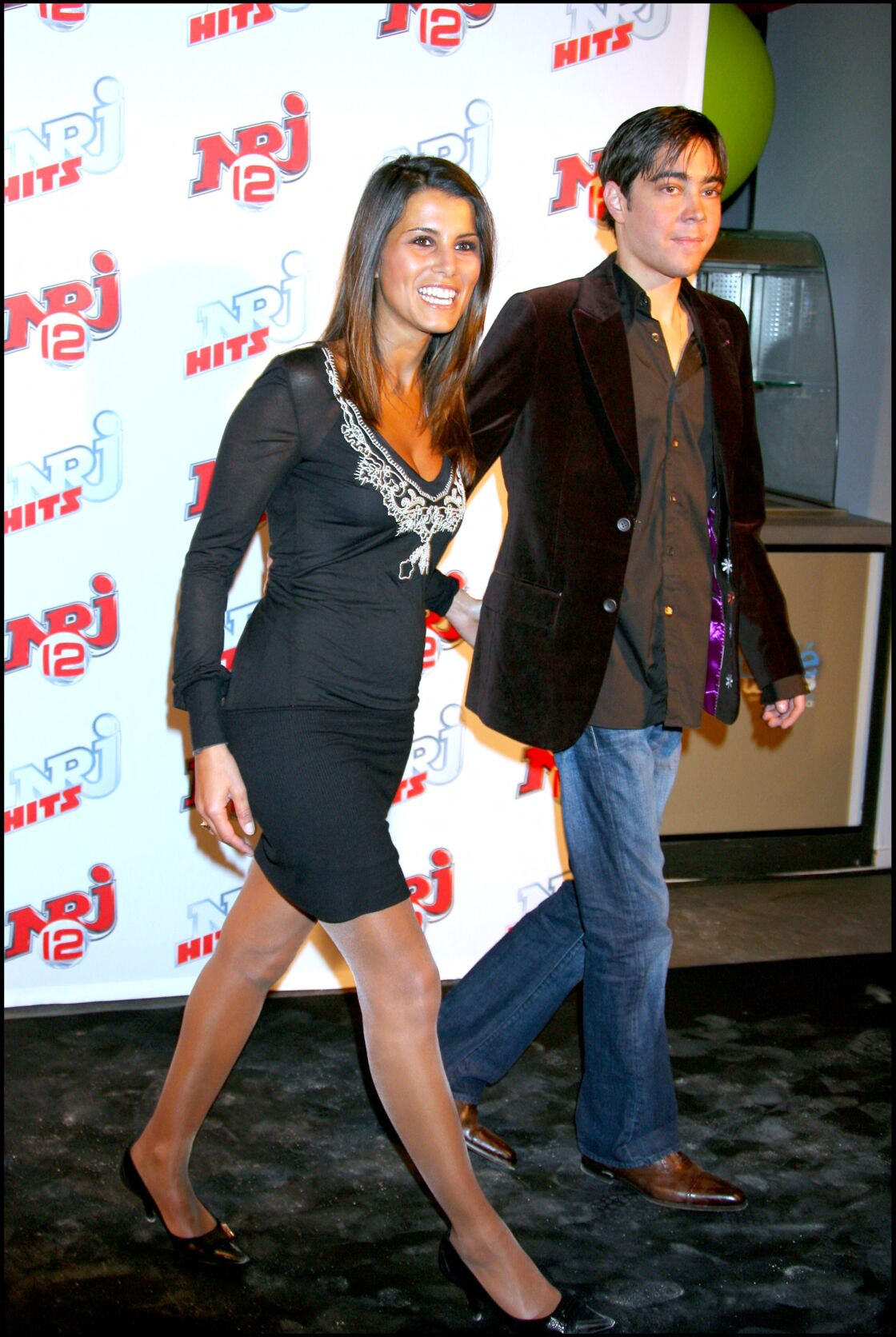 Karine Ferri et Grégory Lemarchal, le 23 mars 2007