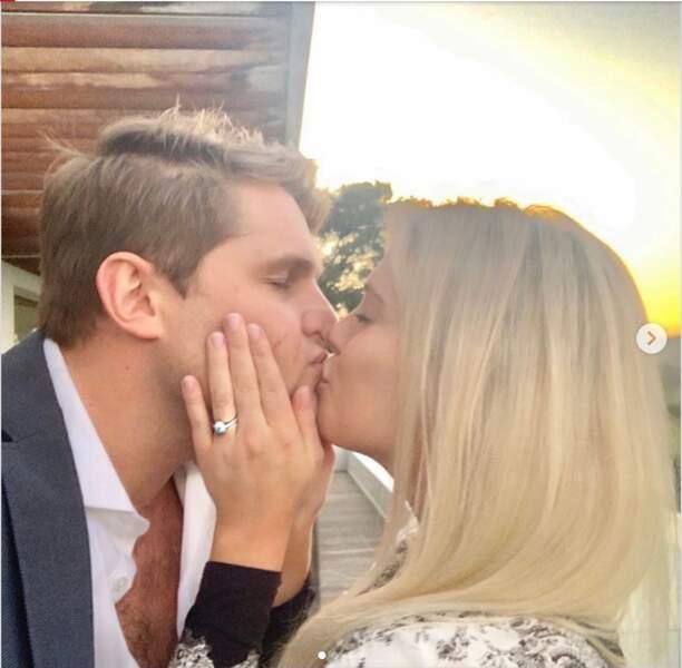 Très amoureux, Lady Amelia Spencer et Greg Mallett n'hésitent pas à s'afficher sur Instagram.