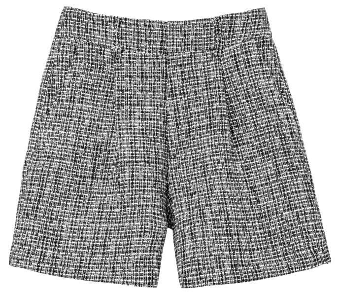 Short tweed, 24,90€, U Collection.