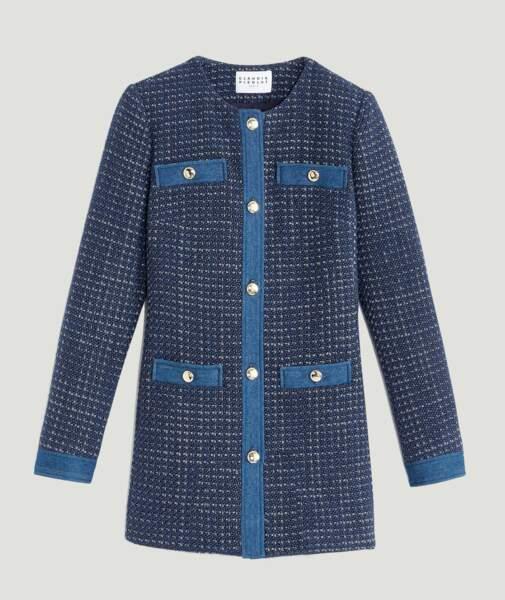 Manteau tweed, 385€, Claudie Pierlot.