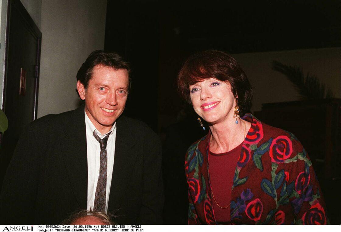 Anny Duperey et Bernard Giraudeau ont passé dix-huit ans de leur vie ensemble. Après leur séparation en 1991, l'actrice s'est montrée présente pour son ex, atteint d'un cancer.