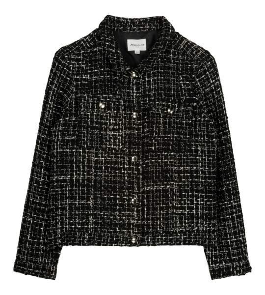 Veste en tweed, 179€, Maison 123.
