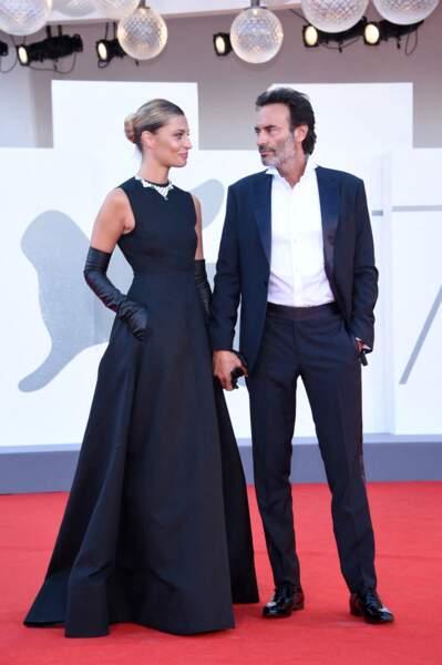 Anthony Delon et sa compagne Sveva Alviti à la Mostra de Venise en ce 2 septembre 2020.