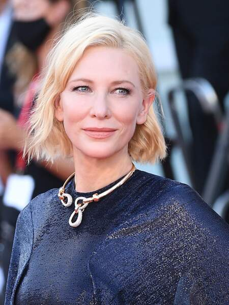 Le carré court de Cate Blanchett