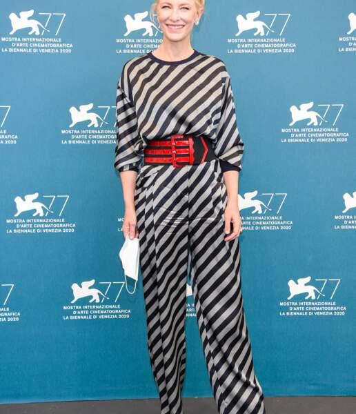 Le chignon chic de Cate Blanchett