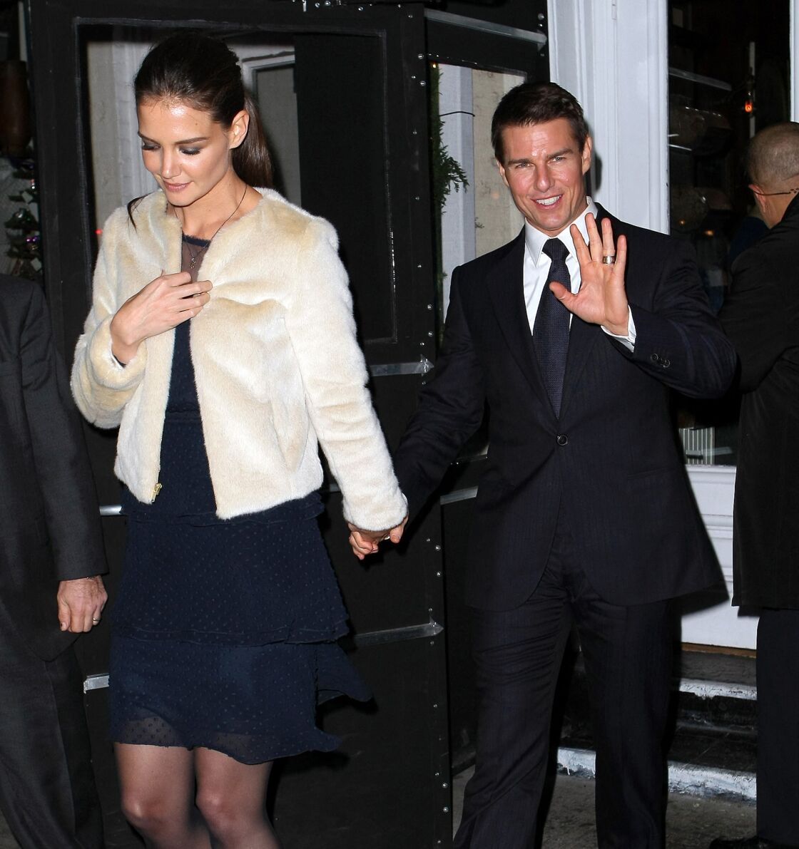 Katie Holmes et Tom Cruise, en 2009