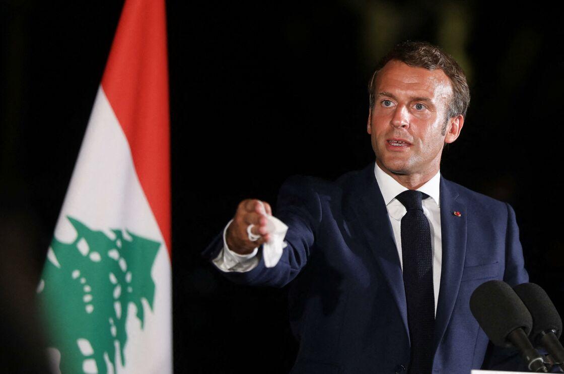 Emmanuel Macron, en août 2020.
