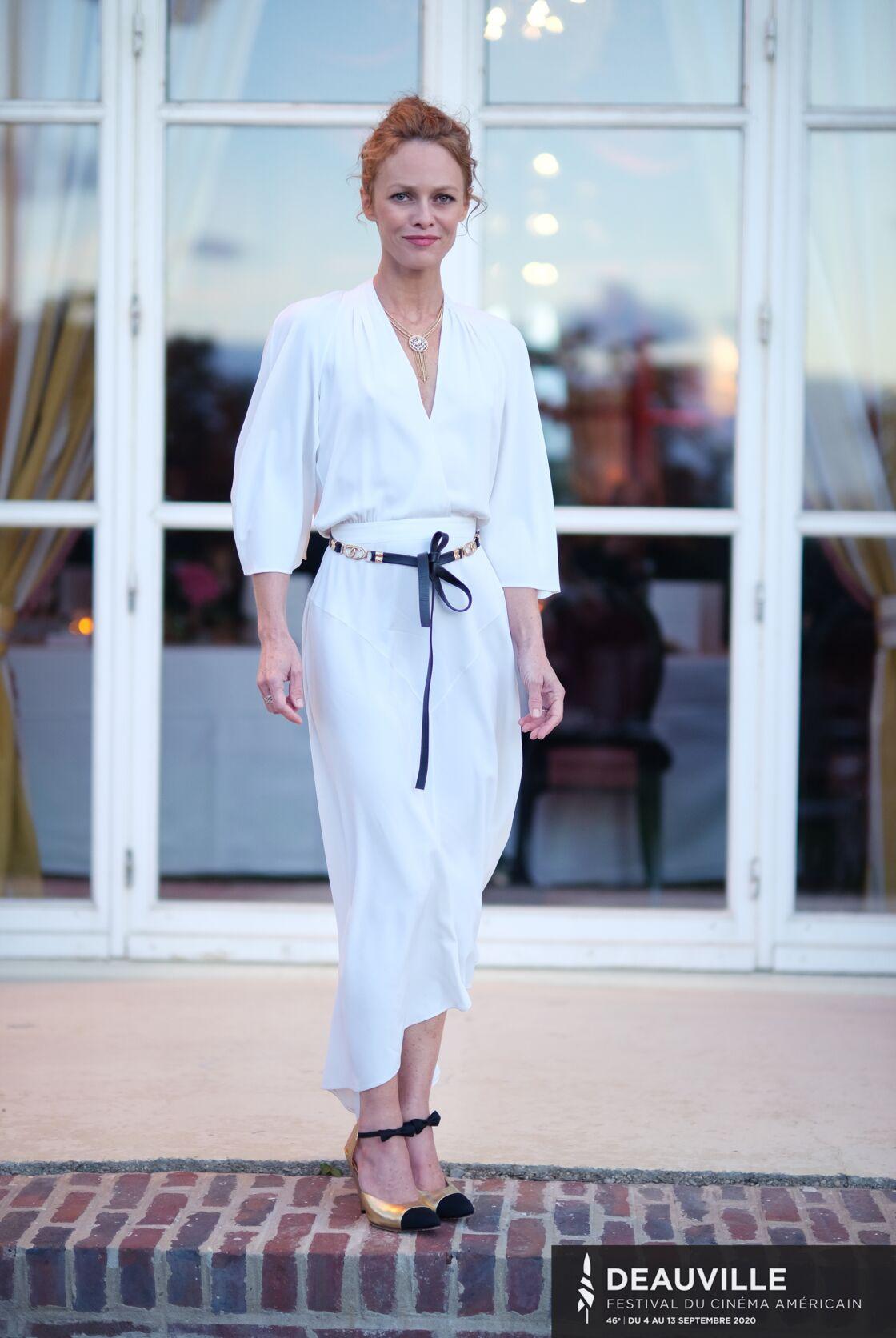 Vanessa Paradis présidente du jury du Festival du cinéma américain de Deauville, le 5 septembre 2020.