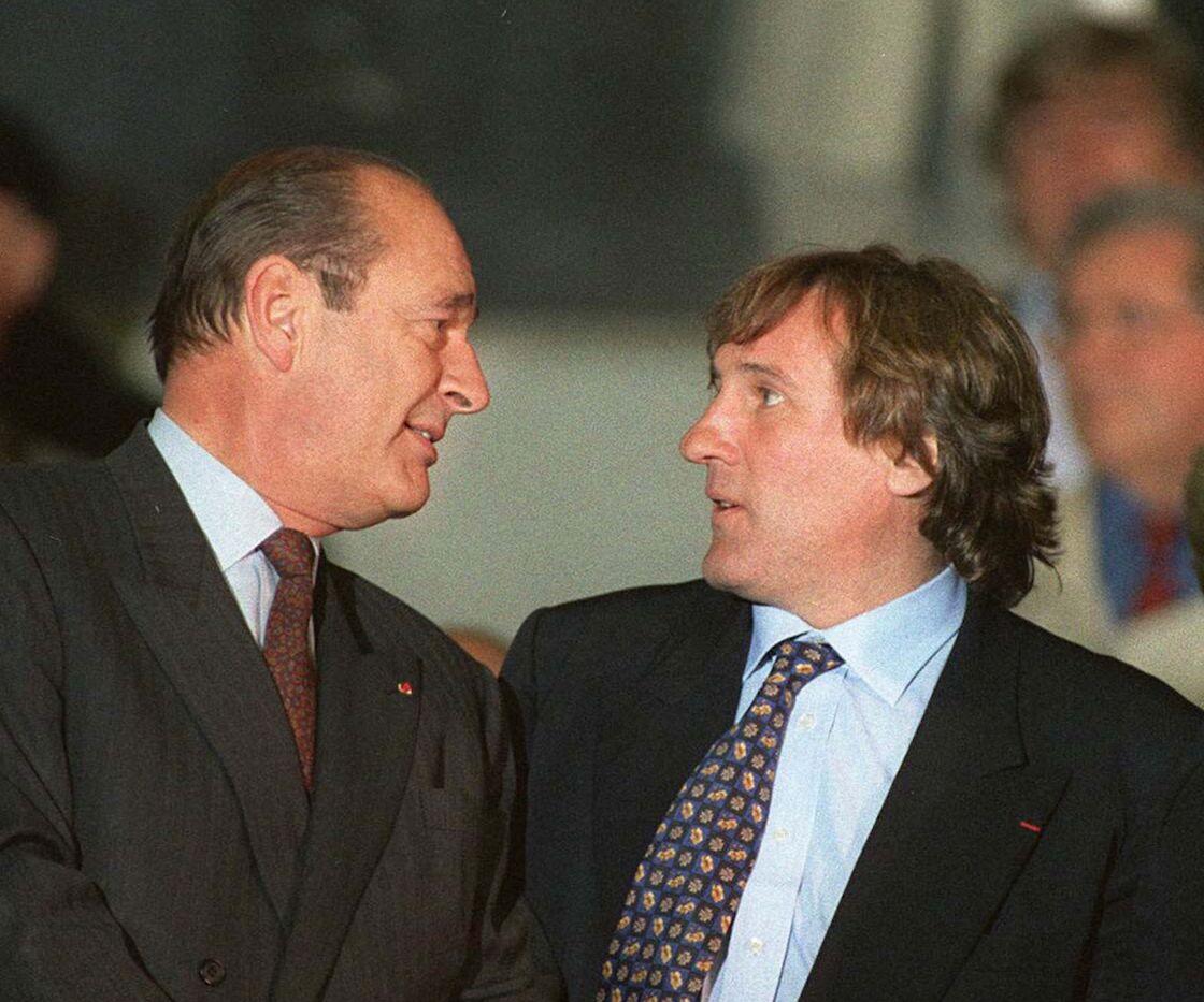 Gérard Depardieu ne tarit pas d'éloges sur Jacques Chirac qu'il trouvait