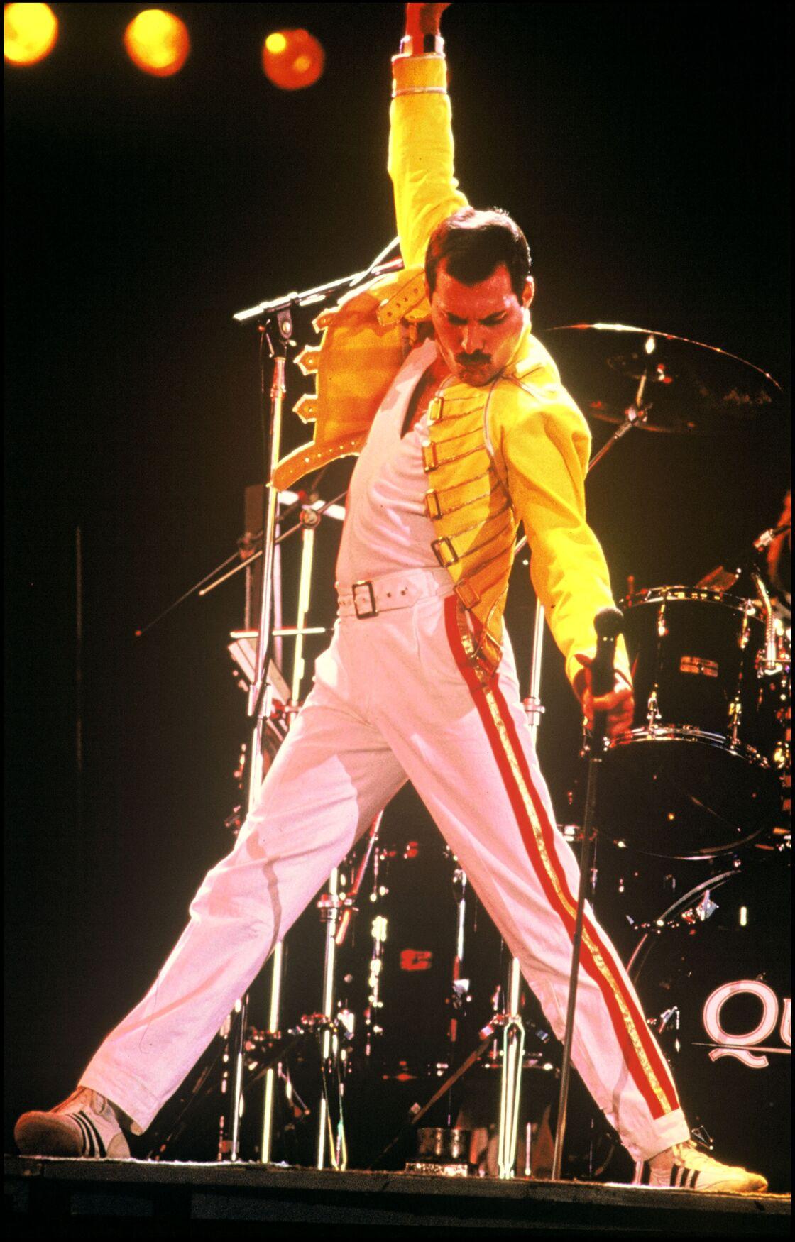 Freddie Mercury, en 1986
