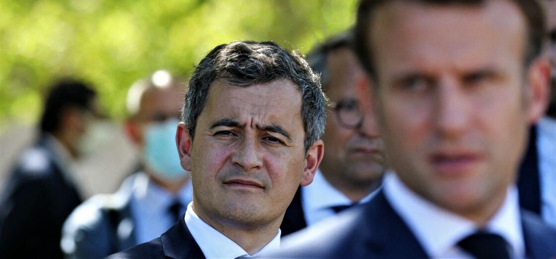 Gérald Darmanin et Emmanuel Macron