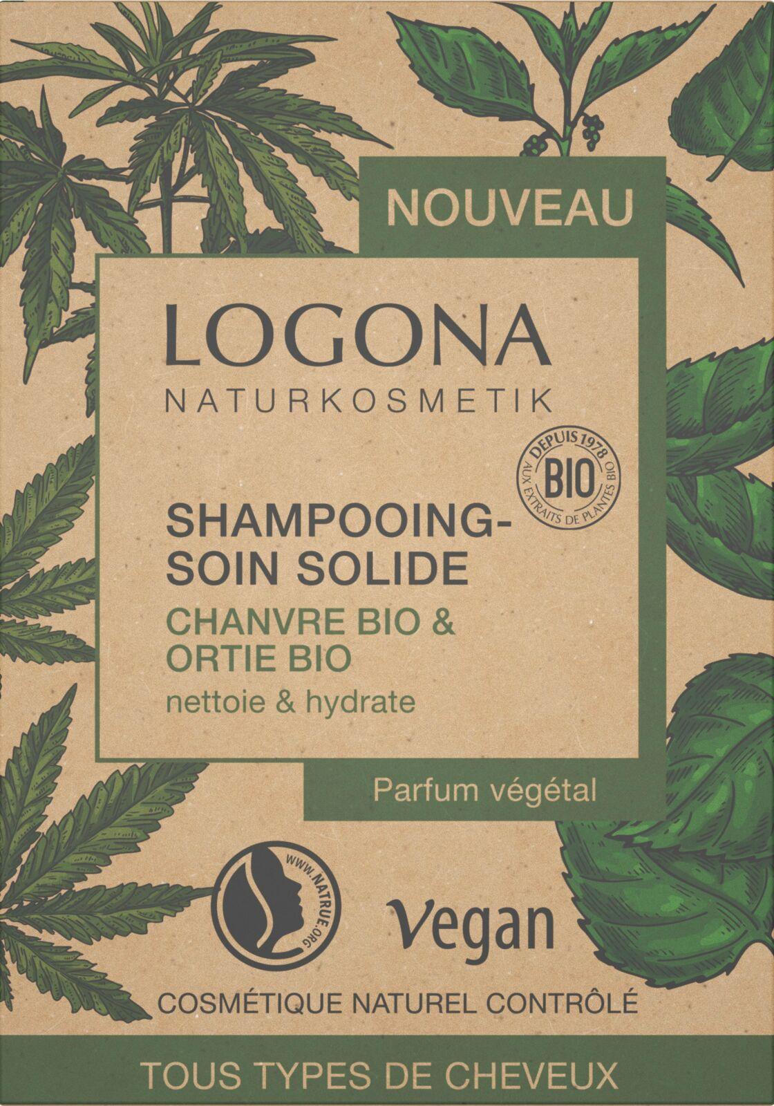 Le shampooing solide Logona est clean et vegan, 9,95 €.