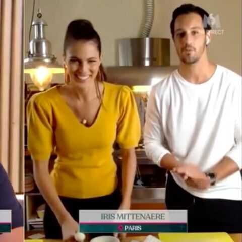 Cyril Lignac se moque gentiment des talents de cuisinière d'Iris Mittenaere