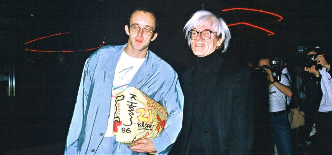 Andy Warhol et Keith Haring