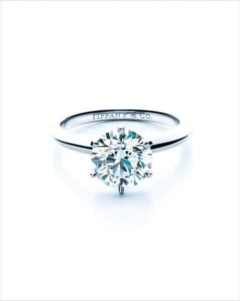 L'année des fiançailles de Bridget Jones marque également le 130ème anniversaire de l'iconique Tiffany Setting.