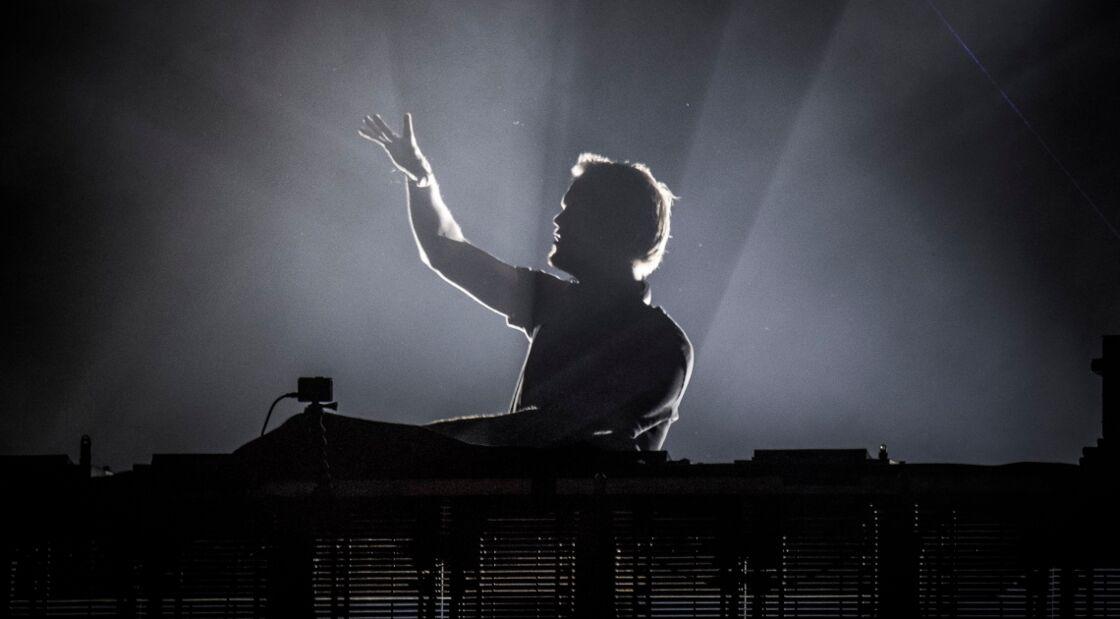 Avicii  en concert à Malmö, en Suède, le 5 août 2016.