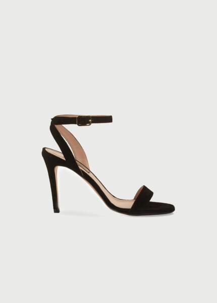 Sandales en daim à talons hauts 169€, Liu Jo