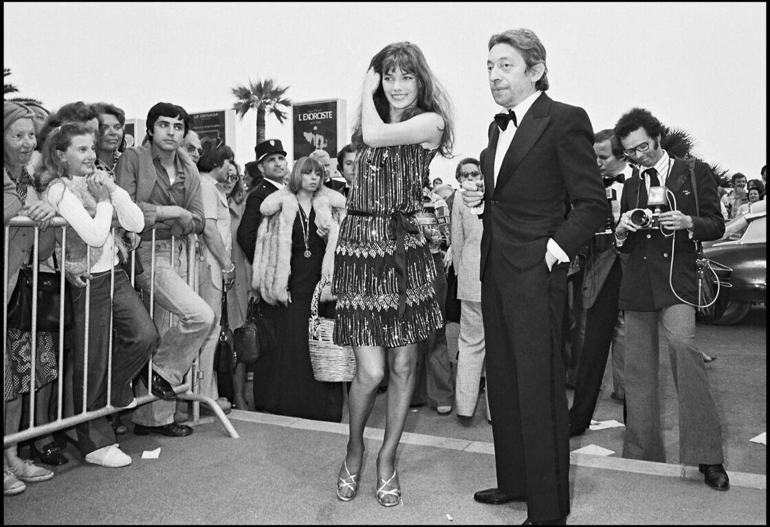 Jane Birkin et Serge Gainsbourg en 1974