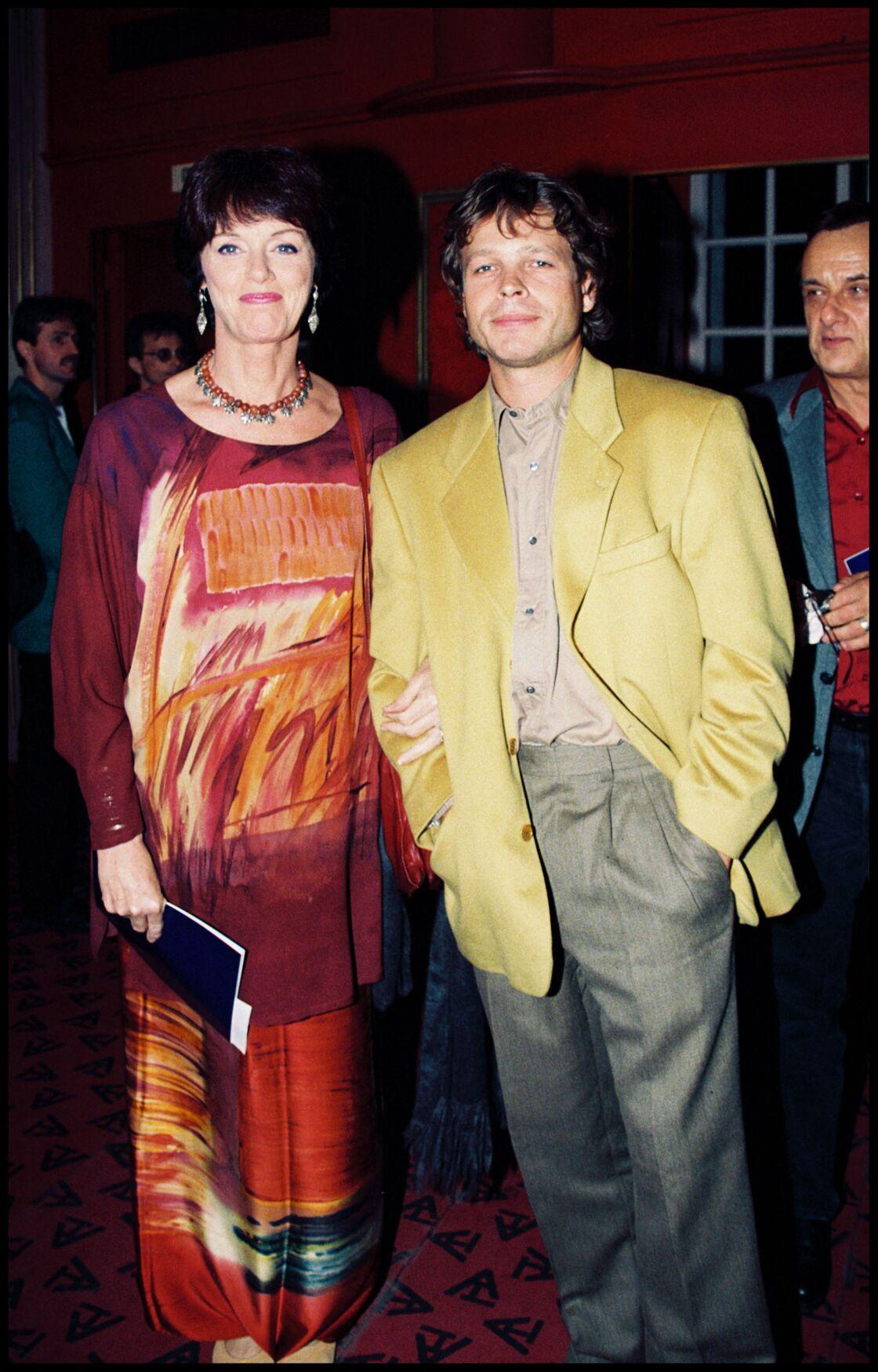Anny Duperey aux côtés de son compagnon Cris Campion,