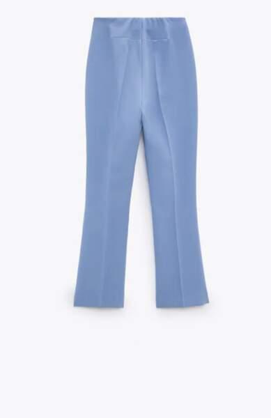 Pantalon mini flare, 29,95€, Zara