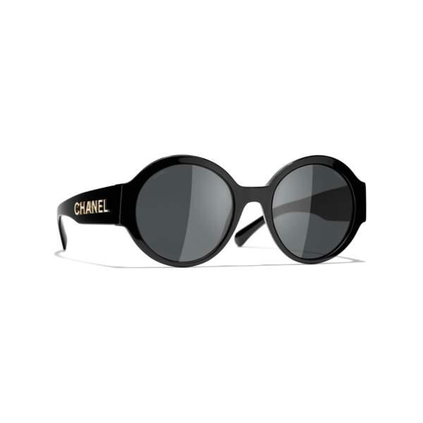 Lunettes de soleil rondes, 380€, Chanel