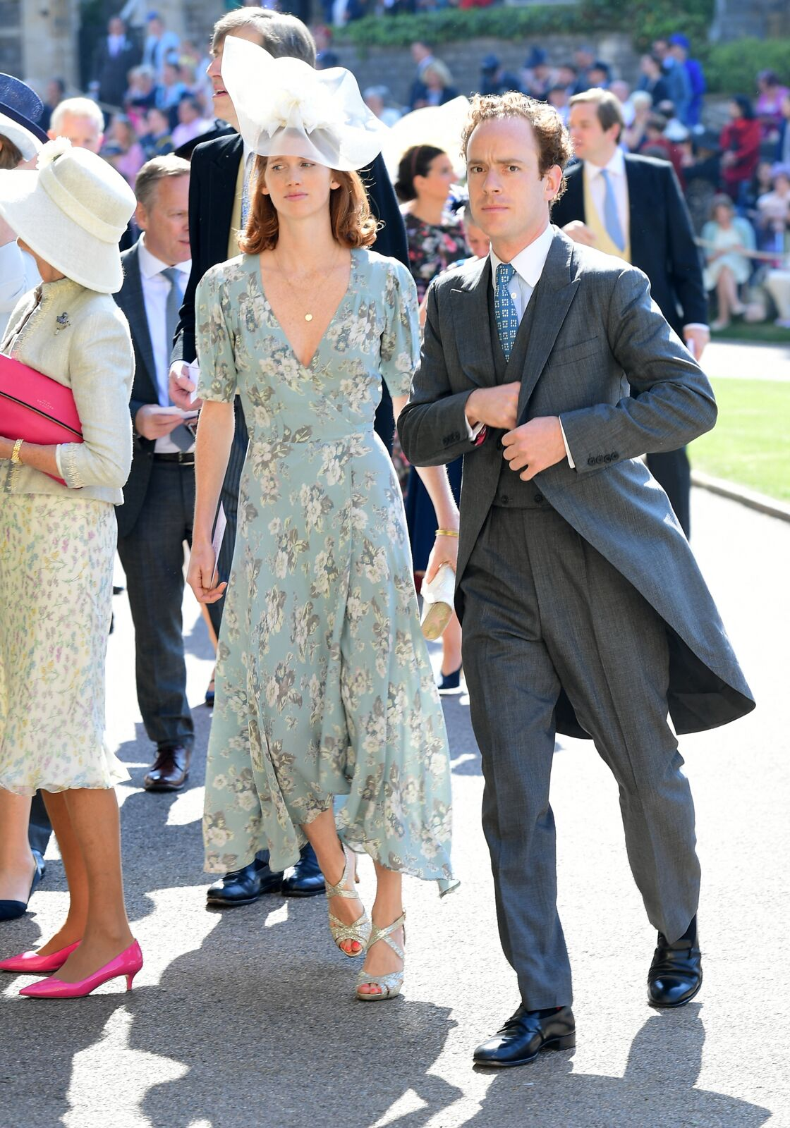Invités au mariage d'Harry et Meghan, Tom Inskip et son épouse n'étaient cependant pas conviés à la réception qui s'est tenue dans la soirée