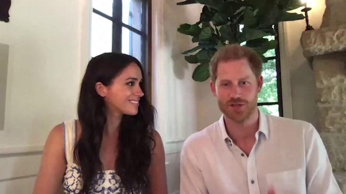 Le prince Harry et Meghan Markle vantent le travail de l'association