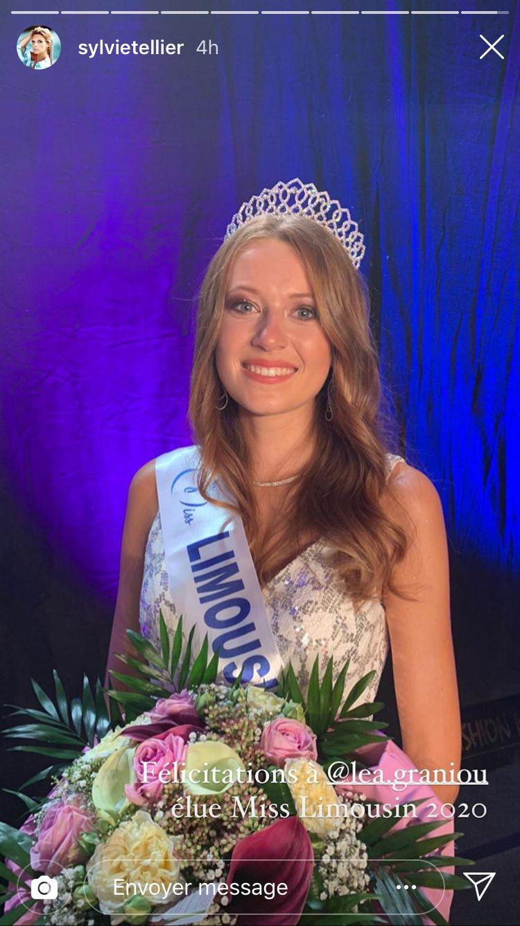 Léa Graniou, Miss Limousin