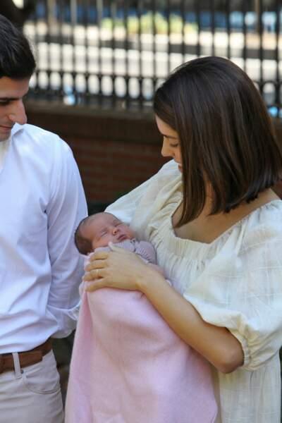 La petite duchesse d'Albe est née le 8 septembre 2020