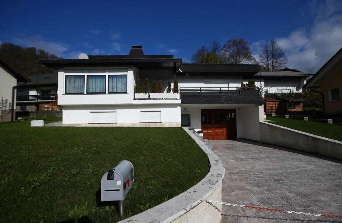 Maison actuelle des parents de Melania Trump, Viktor et Amalija Knavs à Sevnica en Slovénie.