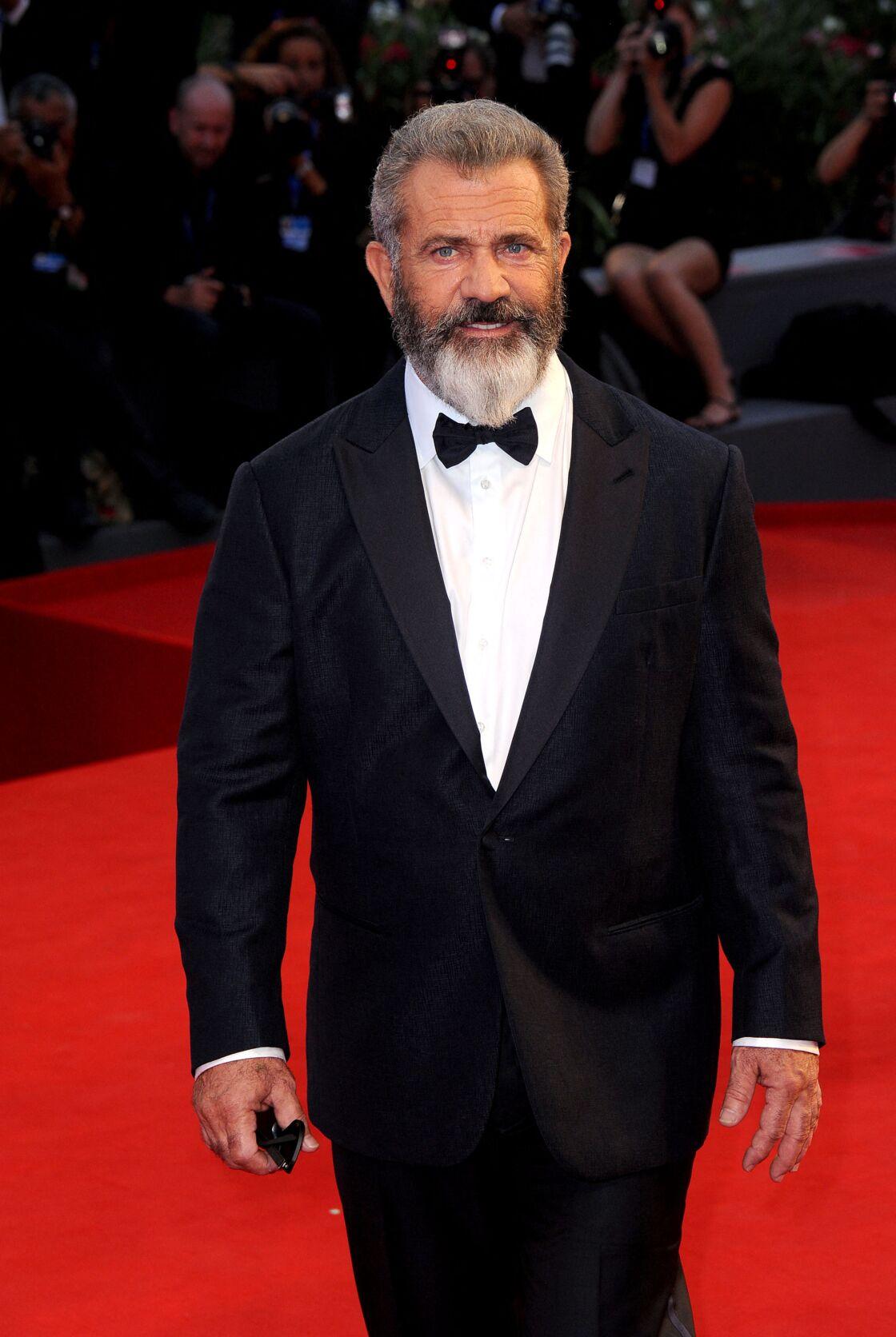 Mel Gibson à la Mostra de Venise le 4 septembre 2016