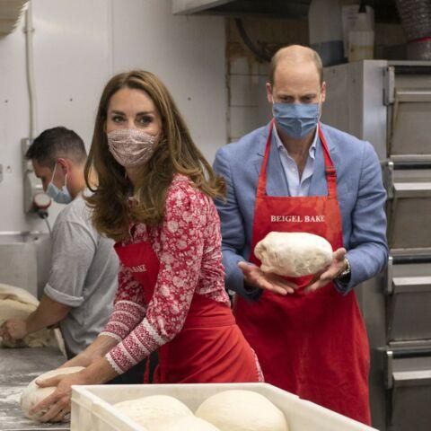 PHOTOS – Kate Middleton et William, masqués, s'adonnent à une surprenante activité