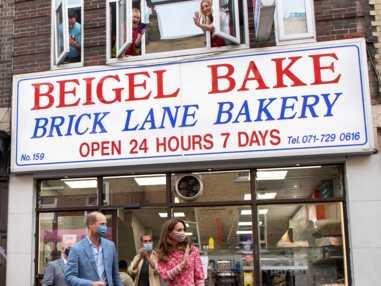 PHOTOS - Kate et William : visite insolite dans une boulangerie londonienne