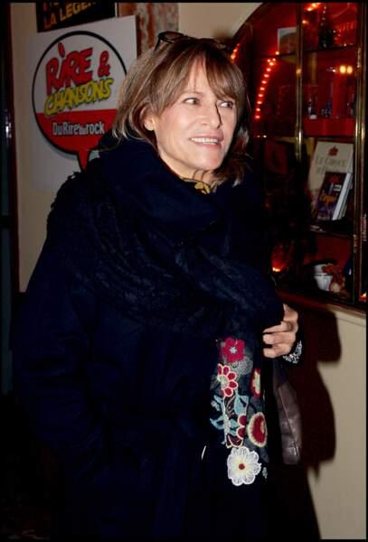 Nathalie Delon, la mère d'Anthony Delon, né de ses amours avec Alain Delon