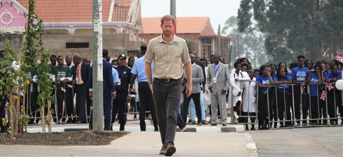 Harry en Angola, en septembre 2019.